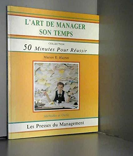 9782878450125: L'art de manager son temps