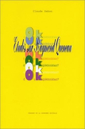 9782878541380: Doukiplèdonktan?: Études sur Raymond Queneau (French Edition)