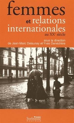 9782878543902: Femmes et relations internationales au XXe siècle