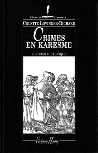 9782878581744: Crimes en Karesme