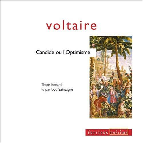 9782878621884: Candide ou l'optimisme (coffret 4 CD)