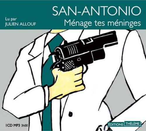 9782878626810: San-Antonio: ménage tes méninges (Frisson)