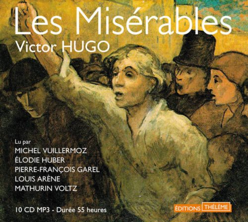 9782878626964: Les Miserables - 10 CD MP3 in French - 55 hours recording (French Edition)