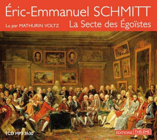 9782878627152: La secte des �go�stes (1CD audio MP3)