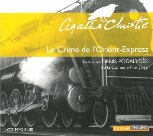 9782878627206: Le Crime de l'Orient Express (livre audio, nouvelle �dition)
