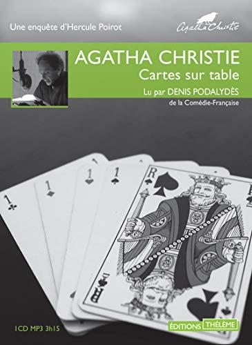CARTES SUR TABLE 1CD MP3 3H15: CHRISTIE AGATHA PODA