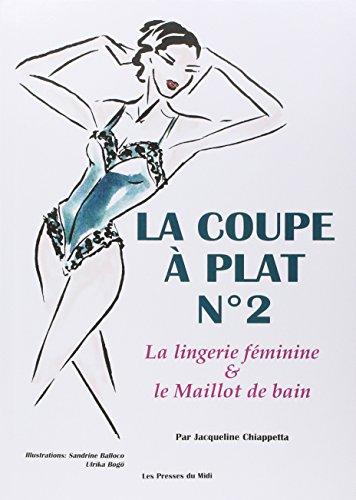 9782878671247: La coupe à plat, numéro 2. Lingerie féminine et maillot de bain