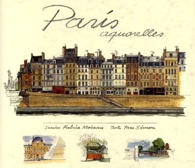 9782878680706: Paris. Aquarelles