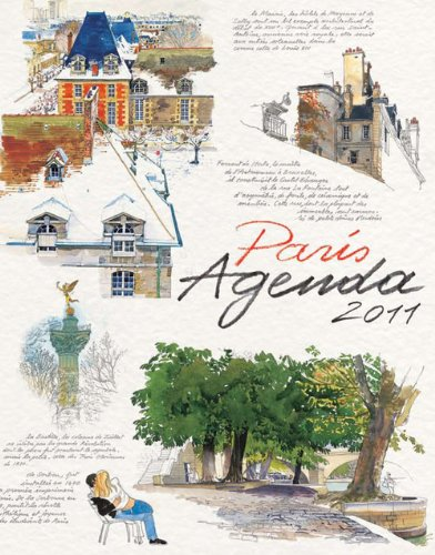 PARIS AGENDA 2011 (9782878681345) by MOIREAU, FABRICE