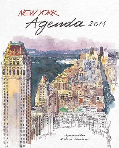 9782878681680: Agenda new york 2014 (Carnet d'aquarelles)