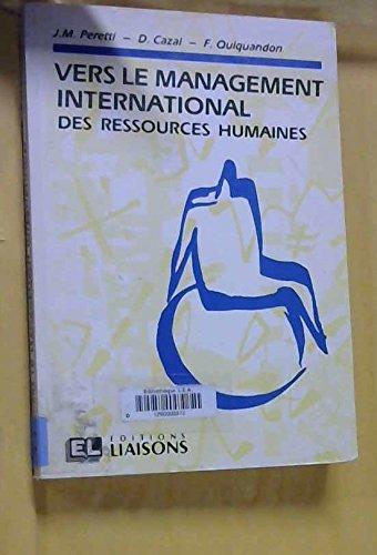 Vers le management international des ressources humaines: Jean-Marie Peretti