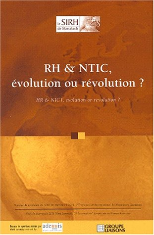 9782878804256: RH & NTIC, �volution ou r�volution ? HR & NICT, evolution or revolution?