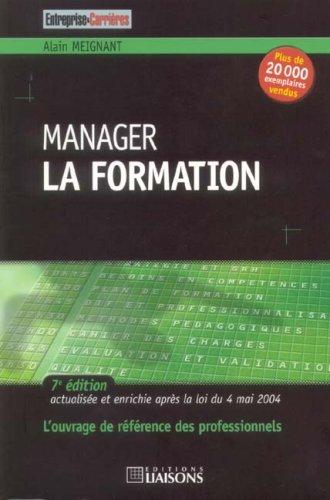 9782878806595: Manager la formation