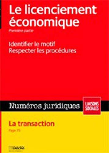 licenciement economique prevention definition procedure: Collectif