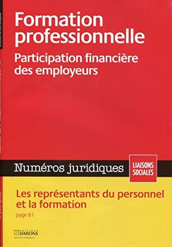 """""""formation professionnelle ; participation financière des employeurs"""""""