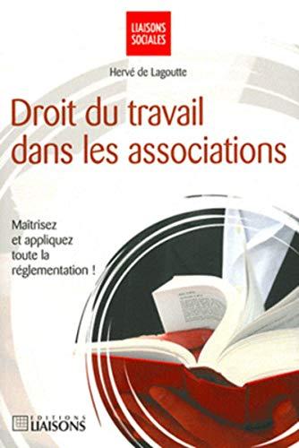 le droit du travail dans les associations: Hervé de Lagoutte