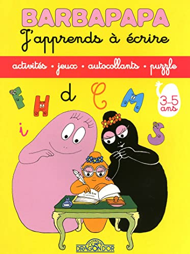 9782878811346: Barbapapa : J'apprends à écrire