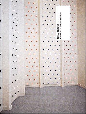 Niele Toroni, autour d'un travail/peinture (2879005515) by Béatrice Parent; Musée d'art moderne de la ville de Paris; Niele Toroni; Suzanne Pagé