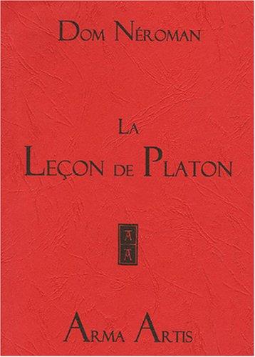 9782879130392: La leçon de Platon