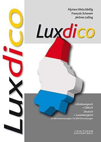 9782879530581: Luxdico: Wörterbuch Deutsch/Luxemburgisch - Luxemburgisch/Deutsch