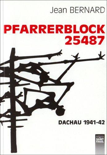 9782879632865: Pfarrerblock 25487: Dachau 1941-42