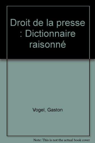 9782879740393: Droit De La Presse