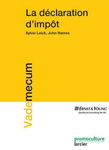 9782879741994: La d�claration d'imp�t au Luxembourg