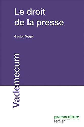 9782879742434: Le droit de la presse (2e édition)