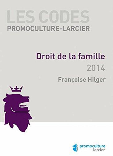 9782879747071: Code Promoculture-Larcier - Droit de la famille (LARC.COD.PROMO.)