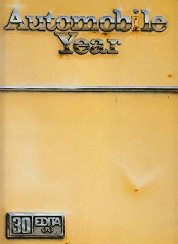 The Automobile Year No. 30, 1982-1983: No Author.