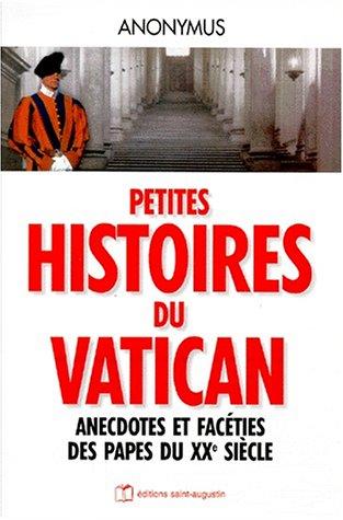 9782880111809: Petites histoires du vatican
