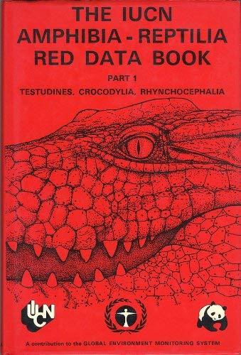 9782880326012: Iucn Amphibia-Reptilia Red Data Book, Part 1 (Pt. 1)