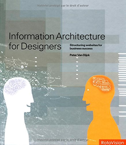 9782880467319: Information Architecture for Designers /Anglais: A Guide to Structuring Websites for Business Success