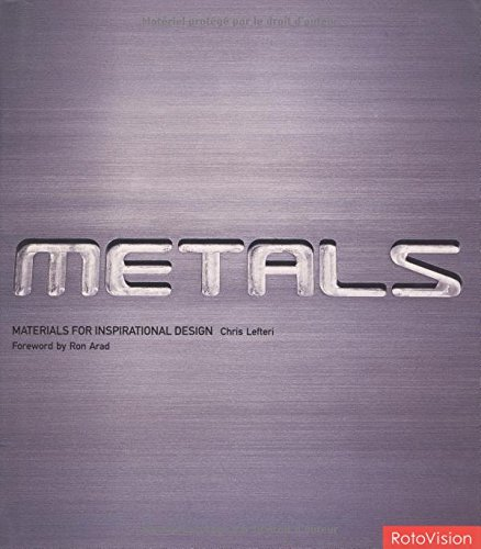 9782880467623: Metals Materials for Inspirational Design /Anglais