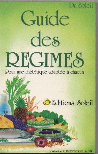 9782880580377: Guide des r�gimes