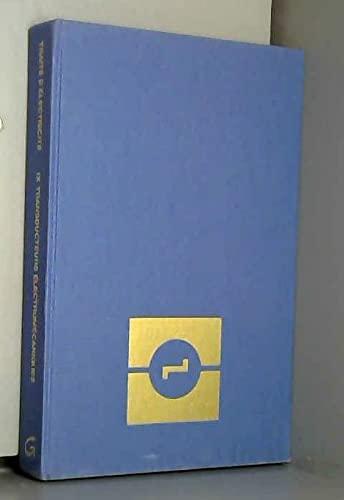 9782880740498: Trait� d'�lectricit�, Tome 9 : Transducteurs �lectrom�caniques