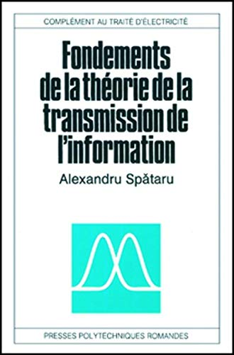 fondement de la theorie de l'information: Spataru