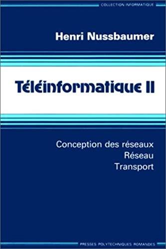 9782880741457: T�l�informatique. Conception des r�seaux - R�seau - transport