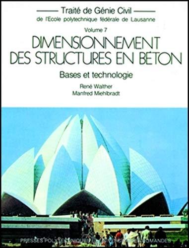 9782880741754: Dimensionnement des structures en b�ton : Bases et technologie