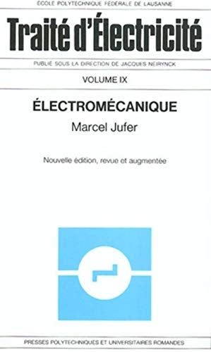 Electromécanique [Mar 01, 1995] Jufer, Marcel