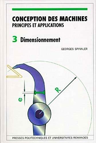 9782880743031: Conception des machines: Principes et applications