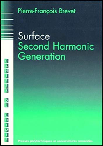 9782880743451: surface second harmonic g