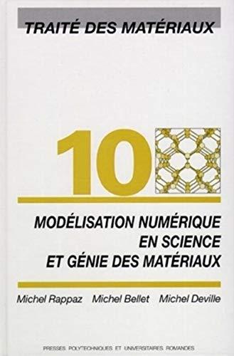 Modélisation numérique en science et génie des matériaux: Materiaux