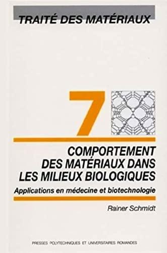 Comportement des materiaux (French Edition): Rainer Schmidt