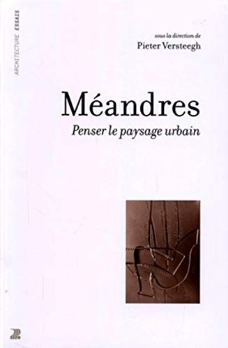 9782880746230: M�andres : penser le paysage urbain