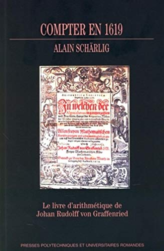Compter en 1619 (French Edition): Alain Schärlig