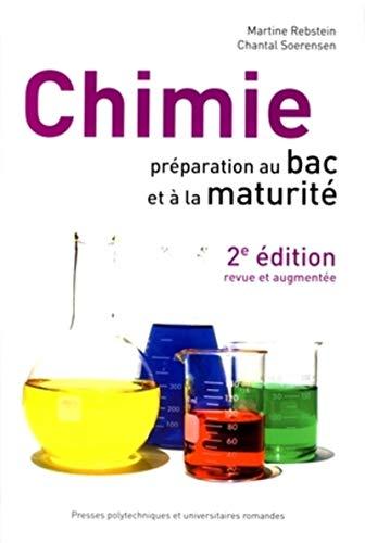 9782880747848: chimie ; préparation au bac et à la maturité