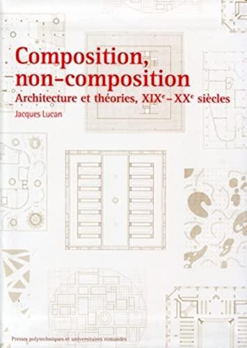 9782880747893: Composition,non-composition.architecture et theories, xixe -xxe siecles