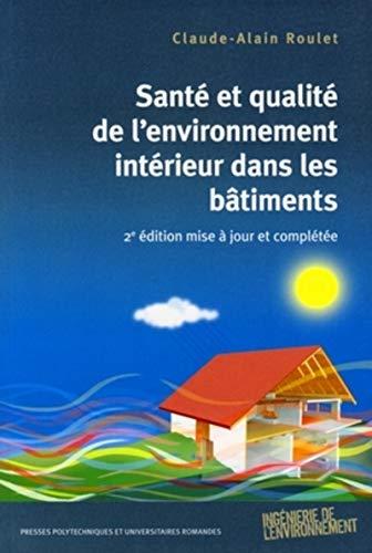 santé et qualité de l'environnement intérieur dans les bâtiments (...