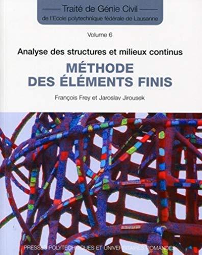 Méthodes des éléments finis (French Edition): Jaroslav ...